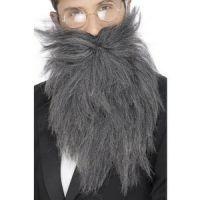 Bild på Långt skägg och mustasch grå