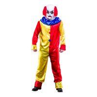 Bild på Läskig Clown Budget Maskeraddräkt - One size