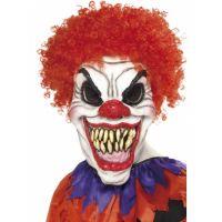 Bild på Läskig Clown Mask med Hår