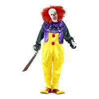 Bild på Läskig Clown Maskeraddräkt - Medium