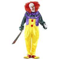 Bild på Läskig clown maskeraddräkt