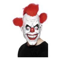 Bild på Läskig Clownmask med Hår - One size