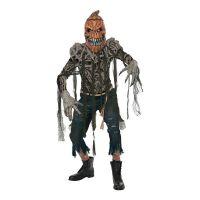 Bild på Läskig Halloweenpumpa Maskeraddräkt - Small