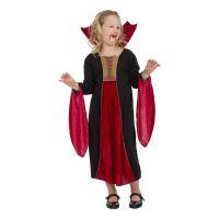 Bild på Läskig Vampyra Barn Maskeraddräkt - Medium