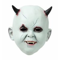 Bild på Latexmask Babyface Med Horn