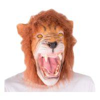 Bild på Lejon Mask med Hår - One size