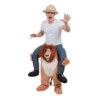 Bild på Lejon Piggyback Maskeraddräkt