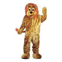 Bild på Lejonmaskot Deluxe Maskeraddräkt - One size