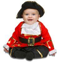 Bild på Liten Pirat Maskeraddräkt Barn (0-6 mån)
