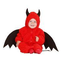Bild på Little Devil Bebis Maskeraddräkt - Small