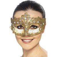 Bild på Lyx Venetian Colombina Ögonmask