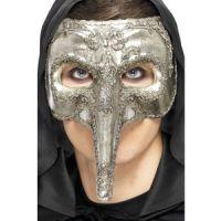 Bild på Lyxig venetiansk capitano mask