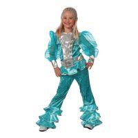 Bild på Mamma Mia Blå Barn Maskeraddräkt - 5-6 år