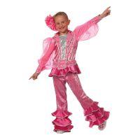 Bild på Mamma Mia Rosa Barn Maskeraddräkt - 5-6 år