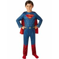 Bild på Man of Steel Superman Barn Maskeraddräkt (Small (3-4 år))