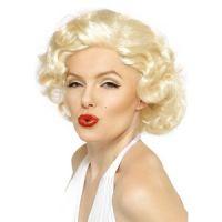 Bild på Marilyn Monroe bombnedslag peruk