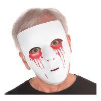 Bild på Mask Vit med Blodiga Ögon - One size