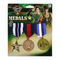 Bild på Militärmedaljer 3-pack