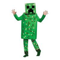 Bild på Minecraft Creeper Deluxe Barn Maskeraddräkt - Small