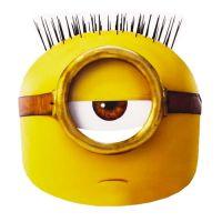 Bild på Minions Egyptian Pappmask - One size