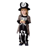 Bild på Miniskelett Barn Maskeraddräkt - One size