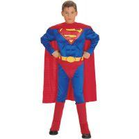 Bild på Muskulös Superman Barn Maskeraddräkt (Small)