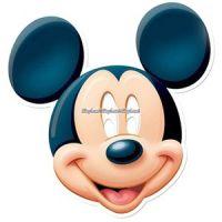 Bild på Musse pigg - mask i kartong - 3 st