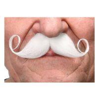Bild på Mustasch Poirot Vit