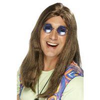 Bild på Neil Hippy peruk brun