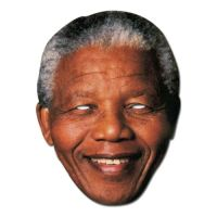 Bild på Nelson Mandela Pappmask - One size