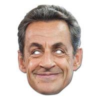 Bild på Nicolas Sarkozy Pappmask - One size
