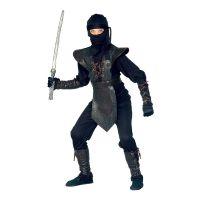 Bild på Ninja Master Jumpsuit Barn Maskeraddräkt - Small