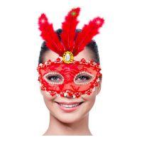 Bild på Ögonmask med Belysning Röd