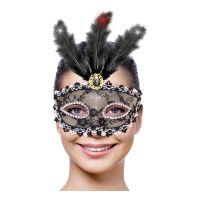 Bild på Ögonmask med Belysning Svart