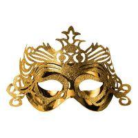 Bild på Ögonmask med Ornament - Guld
