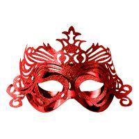 Bild på Ögonmask med Ornament - Röd