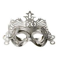 Bild på Ögonmask med Ornament - Silver