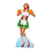 Bild på Oktoberfest Öltjej Kartongfigur