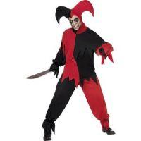 Bild på Ondskefull Joker maskeraddräkt