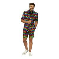 Bild på OppoSuits Wild Rainbow Shorts Kostym - Strl 46