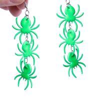 Bild på Örhängen  spindlar gröna
