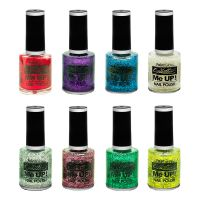 Bild på PaintGlow Glitter Nagellack - Rosa