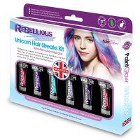 Bild på PaintGlow Hårfärg Unicorn Hair Streaks Kit