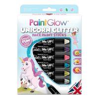 Bild på PaintGlow Unicorn Glitter Sminkpennor