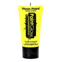 Bild på PaintGlow UV Neon Ansikts- & Kroppsfärg - 50 ml Gul