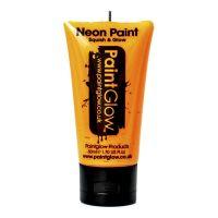 Bild på PaintGlow UV Neon Ansikts- & Kroppsfärg - 50 ml Orange
