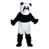 Bild på Pandamaskot Deluxe Maskeraddräkt - One size