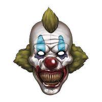 Bild på Pappersmask Läskig Clown