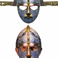 Bild på Papphjälm  anglosaxisk