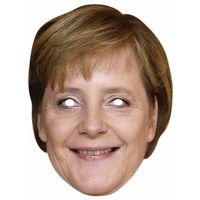 Bild på Pappmasker Angela Merkel (ny)